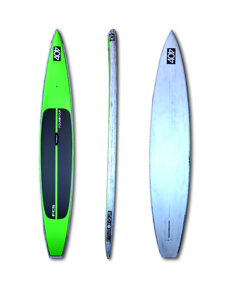 "404 V3 14' x 24""GREEN RACE SERIES 2017 - Alleydesigns Paddle Boards"