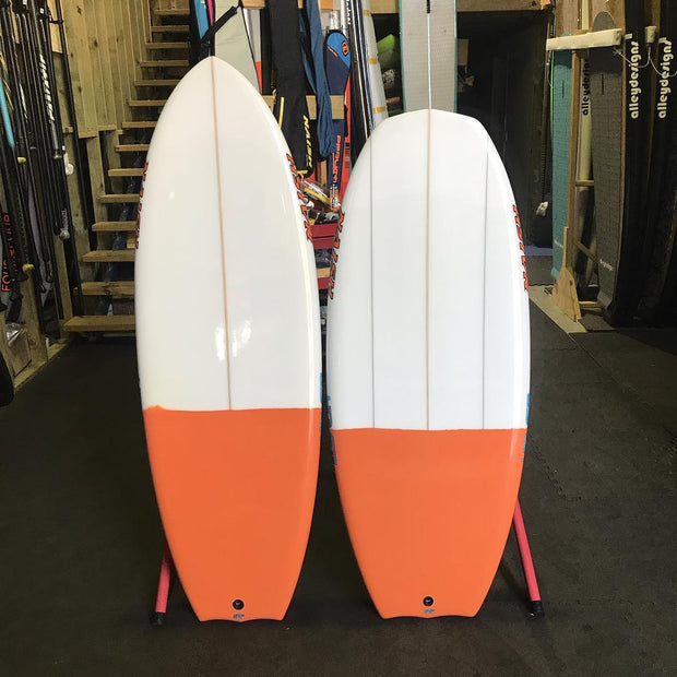 Naish Hover comet and ascend foil boards 2019