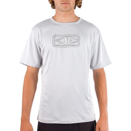 SUP Clothing Mens Beach Shirt - Grey UPF 50+ UV By Ocean & Earth