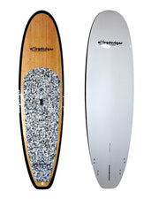 "10' x 32"" Bamboo & Black Classic Alleydesigns SUP 8KG"