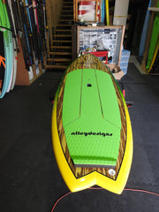 "10' x 32"" Timber AUSSIE Performance Alleydesigns SUP SUP 8KG"