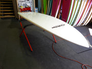 "10' x 32"" Bamboo & White Rails Performance Alleydesigns SUP 8KG"