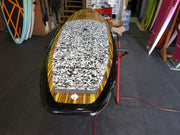 "10' x 32"" Timber & Black Classic Alleydesigns SUP 8KG"