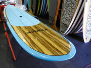 "10' x 29"" Timber & Teal Pin Tail Alleydesigns SURF SUP 8KG - Alleydesigns  Pty Ltd                                             ABN: 44165571264"