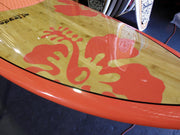 "10'6"" x 32"" Bamboo Sunrise Hibiscus Perfromance Alleydesigns SUP UNDER 10KG"