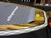 "10'6"" x 32"" Timber Double Sided Timber, Net Carbon Rail SUP UNDER 10KG"