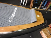 "10'6"" x 32"" Bamboo Double Sided Timber, 3K Carbon Rail SUP 10KG"