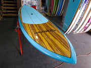 "11' x 32"" Timber Deck Teal HYBRID Alleydesigns SUP under 11kg"