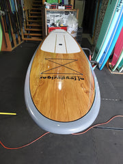 "10'6"" x 32"" Timber Grey Thermo Mould Alleydesigns SUP"