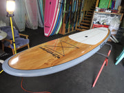 "11'6"" x 32"" Thermo Mould Timber & Grey Alleydesigns SUP"