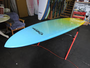 "10' x 32"" Beach Blue to Yellow Fade Performance Alleydesigns SUP 10kg"