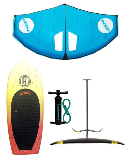 NAISH/ NSP COMBO Complete Wing Ding Setup FOIL BOARD + 6M NSP WING + NAISH FOIL - Alleydesigns  Pty Ltd                                             ABN: 44165571264