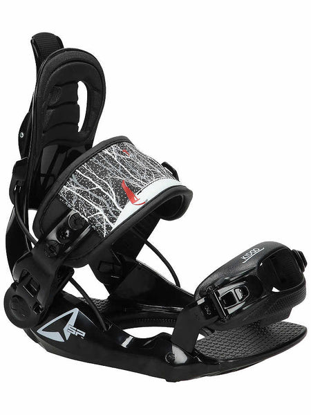 BINDINGS KIDDO SP FASTEC XSMALL BLACK BEGINNER BINDINGS