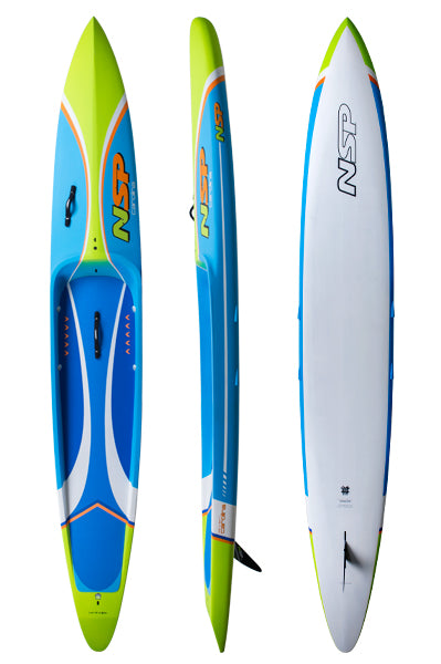 "NSP Carolina Pro Carbon 14'x 24.25"" 283L NSP Racing SUP"