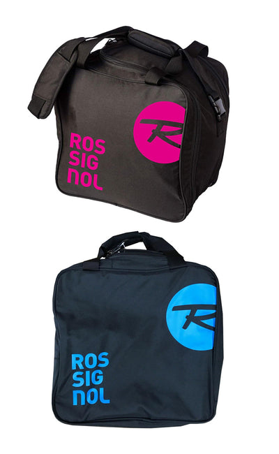 SKI BOOT BAG ROSSIGNOL Alltrack Boot Bag Blue Or Pink Logo