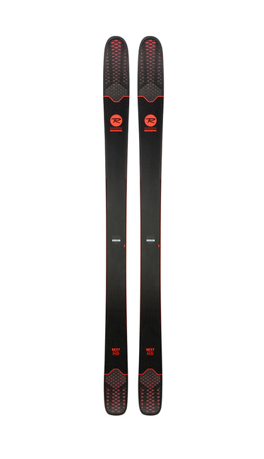 SKIS ROSSIGNOL SKY 7 172CM HD W BLACK /RED WITH CUSTOM FIT BINDINGS