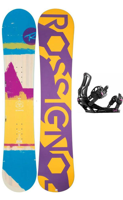 SNOWBOARD ROSSIGNOL GALA LADIES/ KIDS INCLUDES BINDINGS