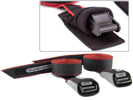 Tie Downs SUP-Longboard Tie Down Straps 4.2m by Ocean & Earth