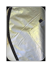 "Board Bag 12'6"" Premium Race Silver by Alleydesigns - Alleydesigns SUP's SURF & SNOW GEAR"