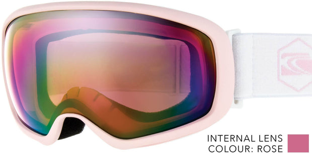 SNOW GOGGLES CARVE FIRST TRACKS PINK/ ROSE LENS