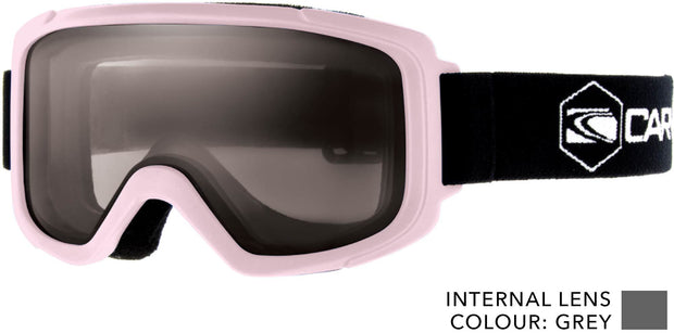 SNOW GOGGLES KIDS CARVE GLIDE All round lens KIDS PINK/ BLUE