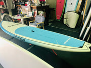 "9'6"" x 31"" Blue To White Fade Performance Alleydesigns SUP"