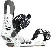 Bindings K2 MERIDIAN Binding Womens Silver Everyday Snowboarder - Alleydesigns SUP's SURF & SNOW GEAR