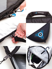 "Board Bag 11ft & 11'6"" by Komunity Project PREMIUM - Alleydesigns Paddle Boards"
