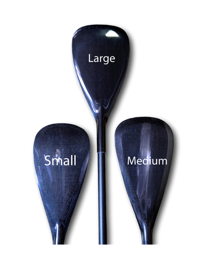Paddle Premium Medium or Large Blade Full Carbon Adjustable Alleydesigns Paddle