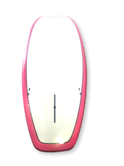 "10'6""x 32"" Pink And White Thermo Mould Family Alleydesigns SUP"