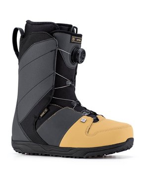 SNOWBOARD BOOTS RIDE Anthem Boa Tan & Black/ All Black/Crimson