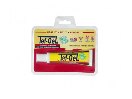 "Tef-Gel Tube Anti-Corrosion Lubricant "" great for foils"""