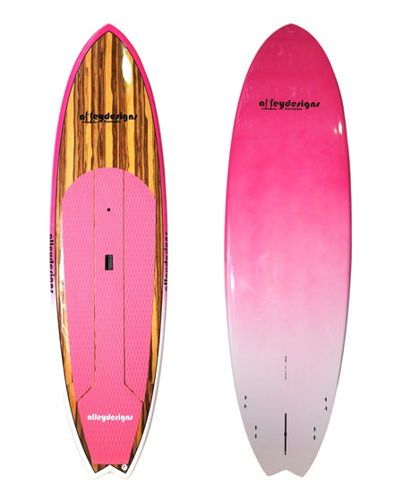 "10' x 32"" Timber Pink Fade Performance Alleydesigns 9KG SUP"