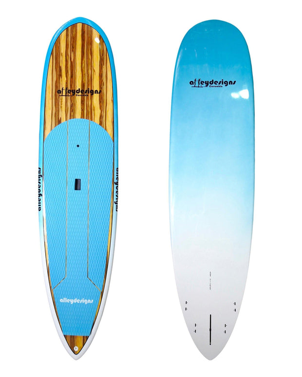 "10' x 29"" Timber & Teal Pin Tail Alleydesigns SURF SUP 8KG"