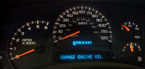 The oil service light is on - What should I do? – Boost