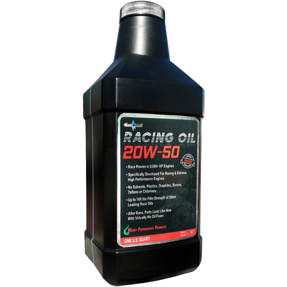 CleanBoost® 20W50™ Racing Oil 1 Quart