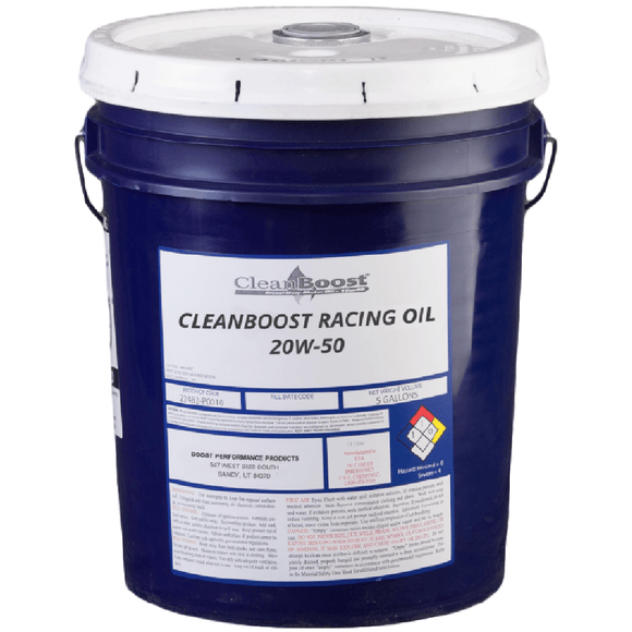 CleanBoost® 20W50™ Racing Oil 5 Gal.