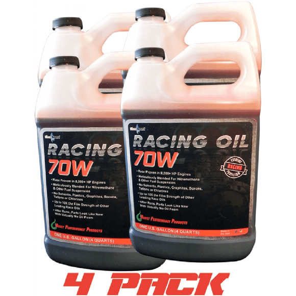 CleanBoost® 70W™ Racing Oil 1 Gal-4pack