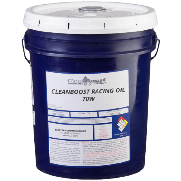 CleanBoost® 70W™ Racing Oil 5 Gal.