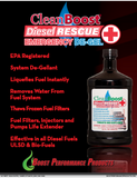 CleanBoost Diesel Rescue Important to Read Flyer 1