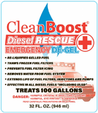 CleanBoost Diesel Rescue instructions
