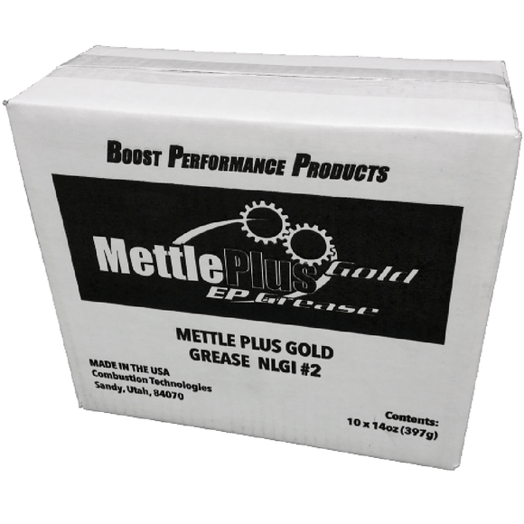 CleanBoost® Mettle Plus EP2 High Temp Grease 10 pk.