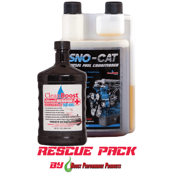 CleanBoost® Diesel Rescue™ 32oz Combo Fuel Additives For Diesel