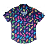 GUMMY BUTTON-UP