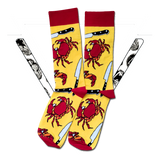 CRAB BATTLE SOCKS