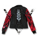 MOTO JACKET DRAGON SCALE