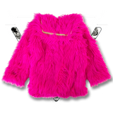 METAL PINK MONSTER COAT
