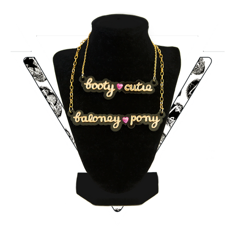 LAST CHANCE ▿ DIRTY RHYMES NECKLACES