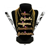 LAST CHANCE ▿ GOLDEN HEARTS NECKLACES