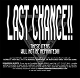 LAST CHANCE ▿ RICK & MORTY TEE